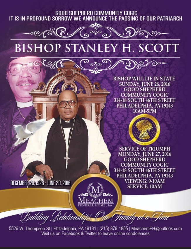 Bishop Stanley Scott