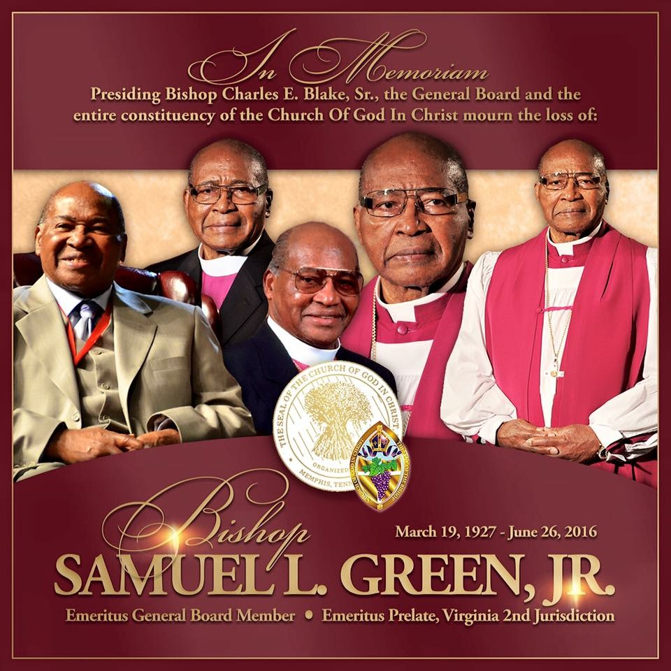 Bishop Samuel Lee Green, Jr.