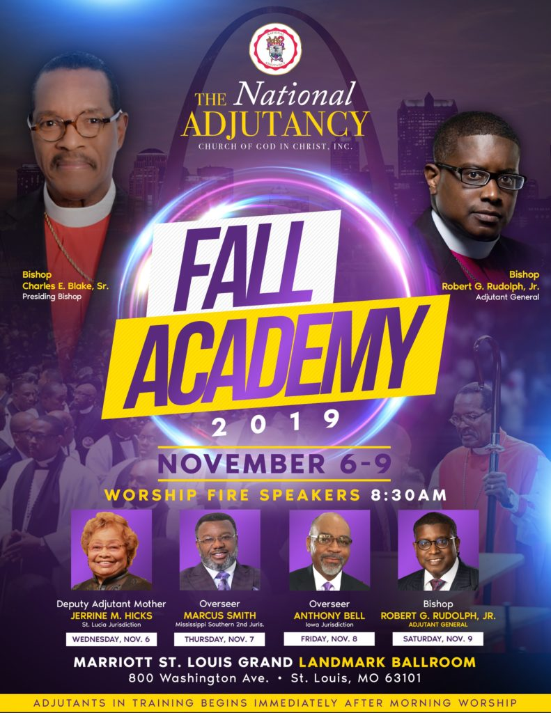COGIC Adjutancy – The Servant Ministry of the Church Of God