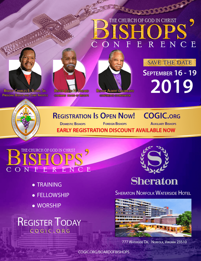 COGIC College of Bishops – Church Of God In Christ, Inc
