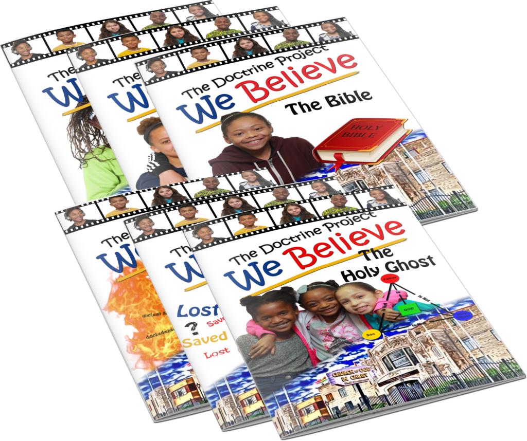 """""""We Believe"""" is a new curriculum based on the doctrine of the Church of God  in Christ. Children are prompted to read the doctrine section by section  and ..."""