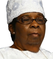 Mother Willie Mae Rivers General Supervisor Of Women