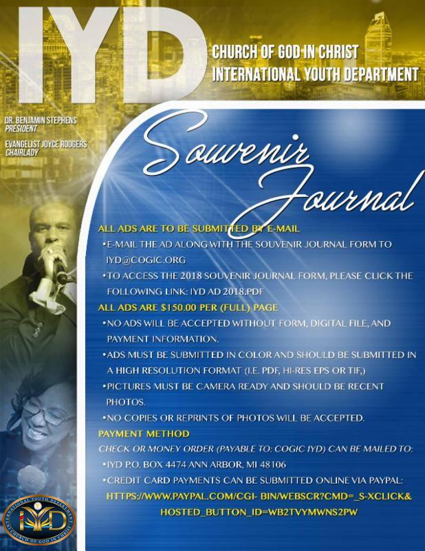 2018 aim souvenir journal ads  u2013 international youth department