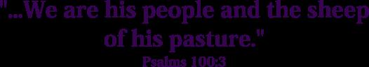 sub-psalm 100