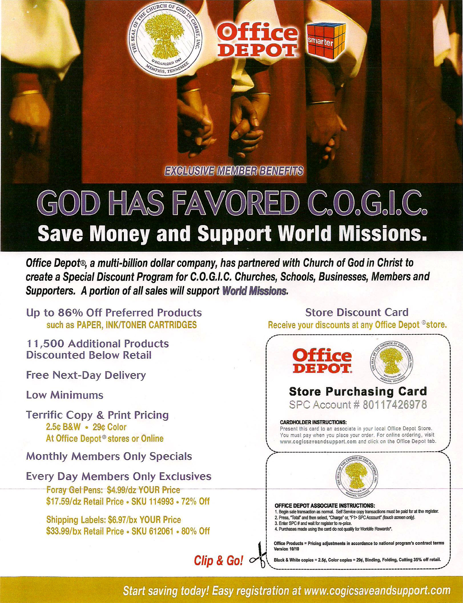 Color printing office depot - Office Depot Cogic