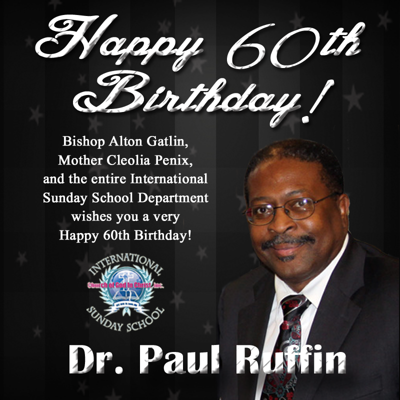 Happy Birthday Dr Strangelove In 2019: Happy 60th Birthday Dr. Ruffin!