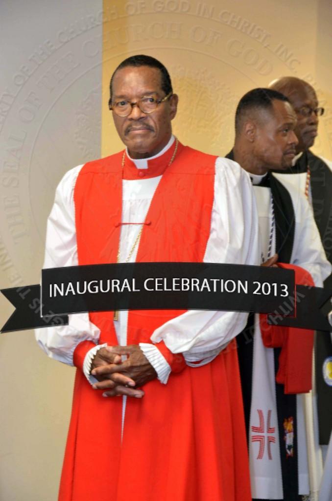 Presiding Bishop As He Enters Service_wm | Church Of God ...