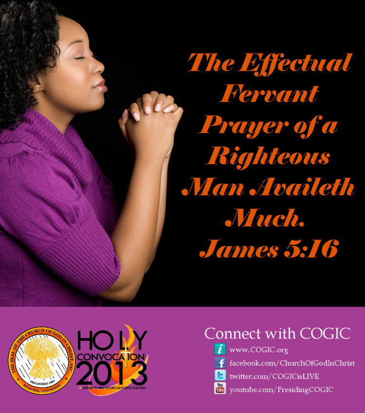 When god s people pray part ii cogic prayer center