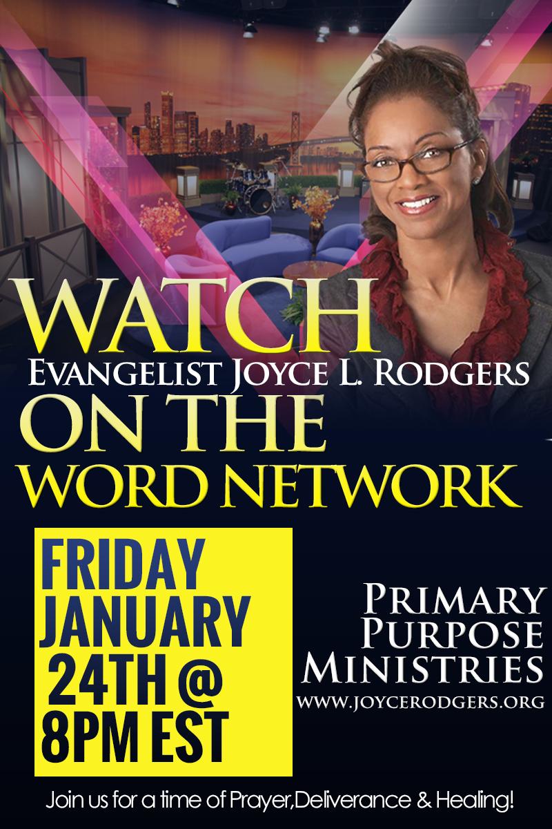 Watch Evangelist Joyce L. Rodgers On The Word Network ...