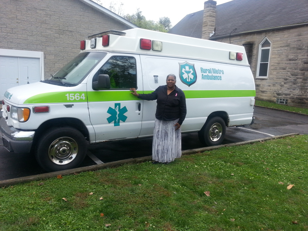 AMBULANCE MOTHER SANDERS