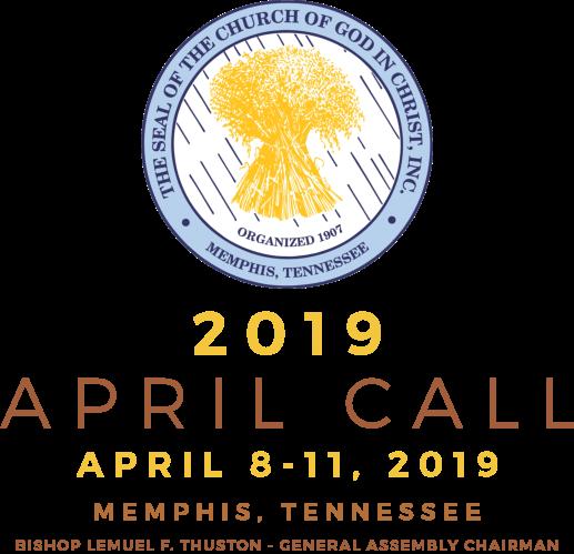 Cogic 2019 april call meeting