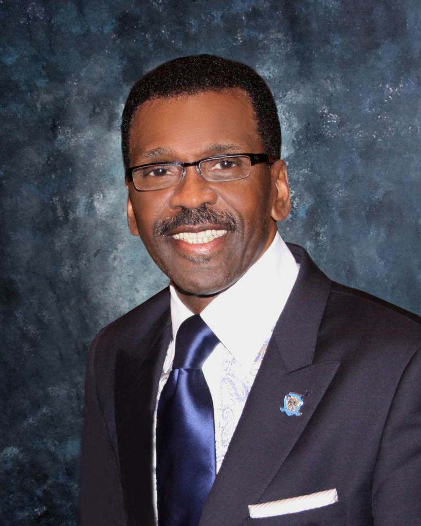 GCPE Official Photo - Blue Suit with LOGO Pin