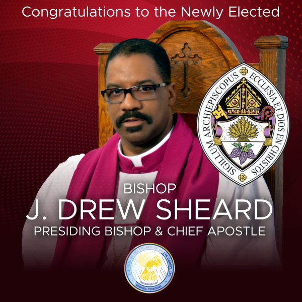 Church of God in Christ Elects J. Drew Sheard as New Presiding Bishop